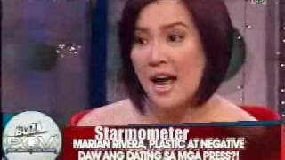 Kris Defends Marian on The Buzz