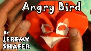 Origami Resentful Bird