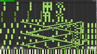 사람이 칠 수 없는 피아노 곡 2 - 렉 없는 버전 An Unplayable Piano Piece!! (An Incredible Piano Piece) Without lags !!