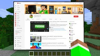 WORKING INTERNET in Minecraft?!! - YouTube, Google & MORE!