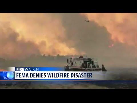 FEMA denies wildfire disaster