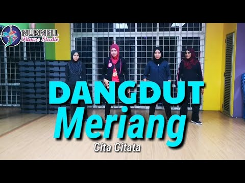 Zumba Dangdut Meriang by Cita Citata with Zin Nurul