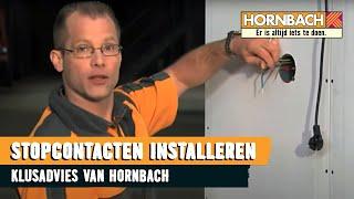 Stopcontact aansluiten