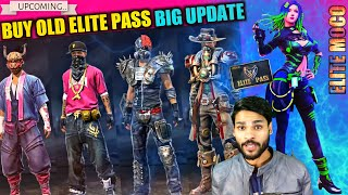 BUY ALL OLD ELITE PASS | ELITE MOCO | NEXT EVO GUN SKIN & MORE | FREE FIRE NEWS UPDATE | SHIV GAMING
