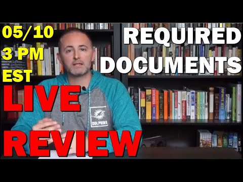 AP Gov LIVE Review Required Documents 5/10 3 PM EST