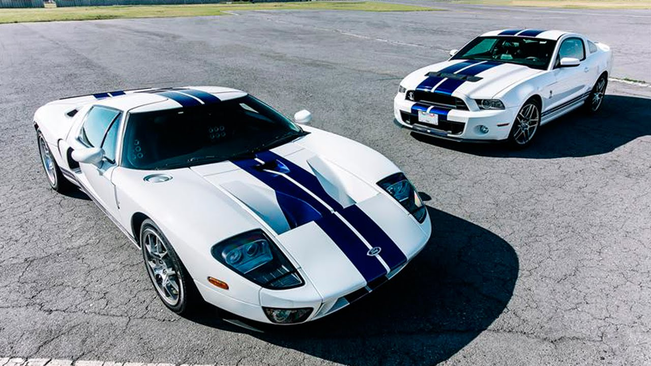 Comparativa ford gt vs shelby gt500 2013 autocosmos youtube