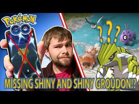 SHINY POKEMON REMOVED FROM POKEMON GO!? SHINY GROUDON ON THE WAY IN HOENN EVENT!? thumbnail