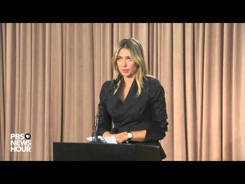 Maria Sharapova announces failed drug test at Australian Open