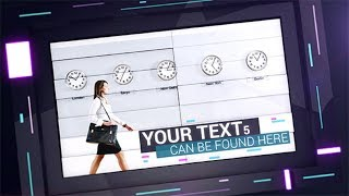 After Effects Template 2018 - Futuristic Presentation Hi-Tech Template By After Effects 2018