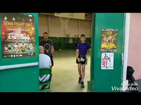 Interclub Chris fight Palais des Sports de Bondy