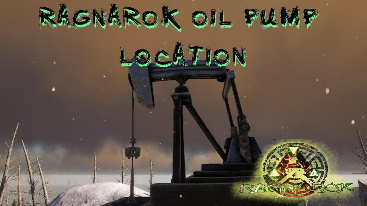 Ark: Survival Evolved - RAGNAROK OIL PUMP LOCATION!!!