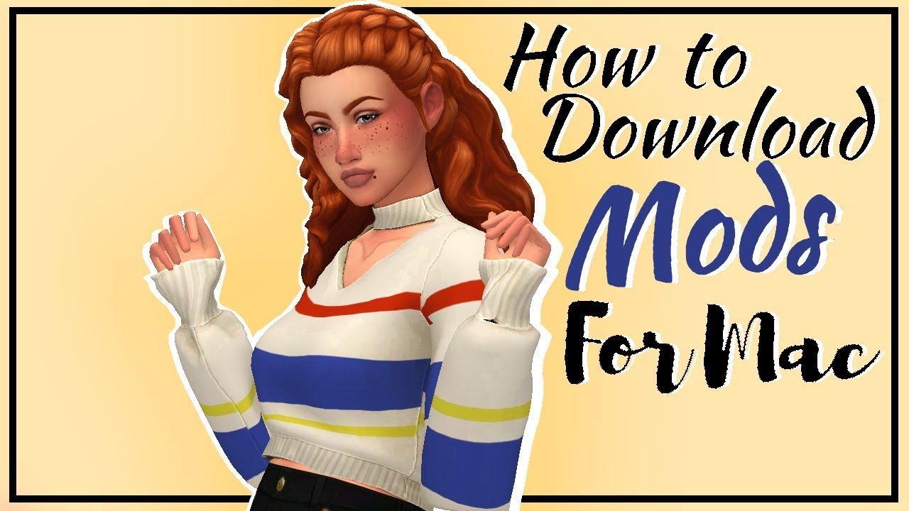 Sims 4 Mods Mac