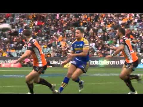NRL 2011 Round 24 Highlights: Wests Tigers V Eels