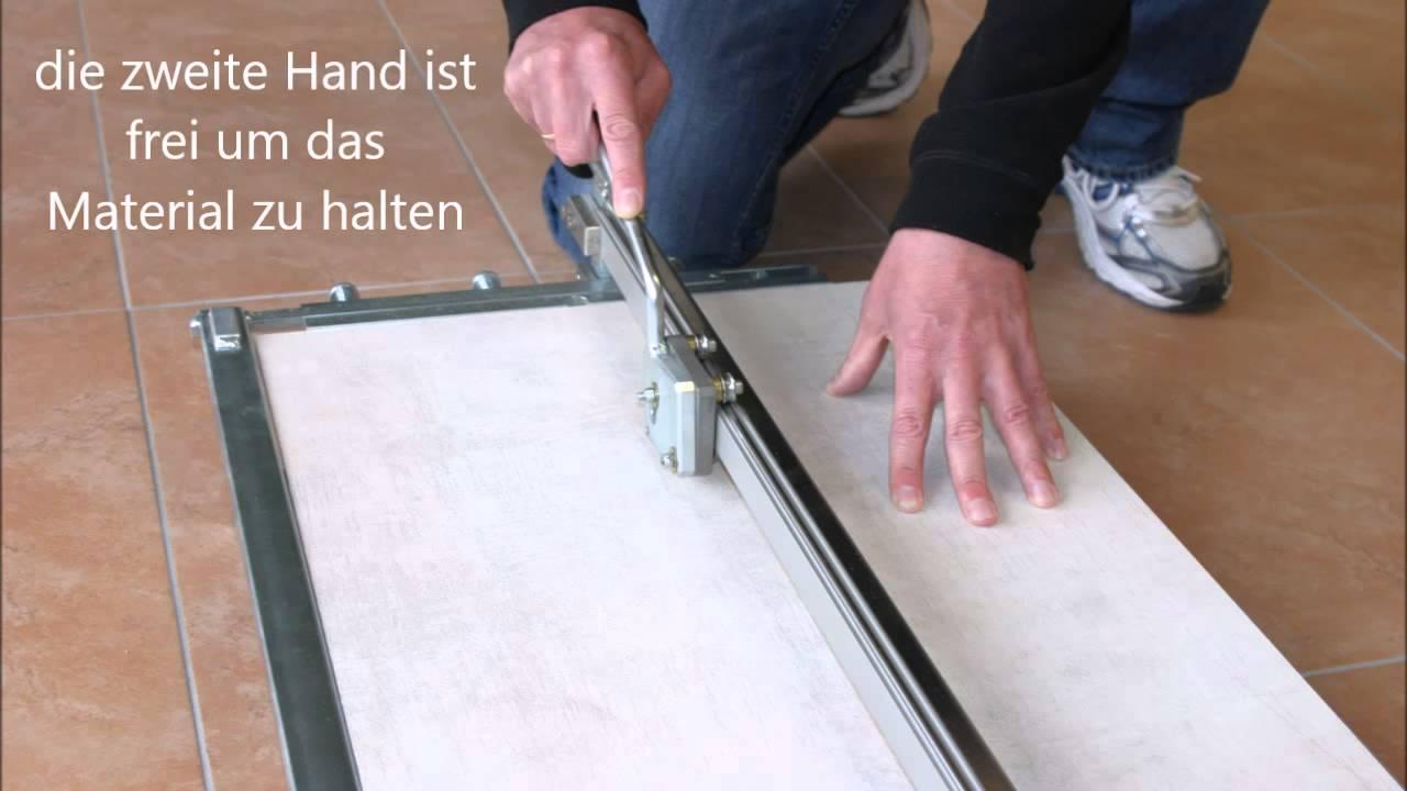 fliesenschneider high line - fliesen schneiden leicht gemacht - youtube