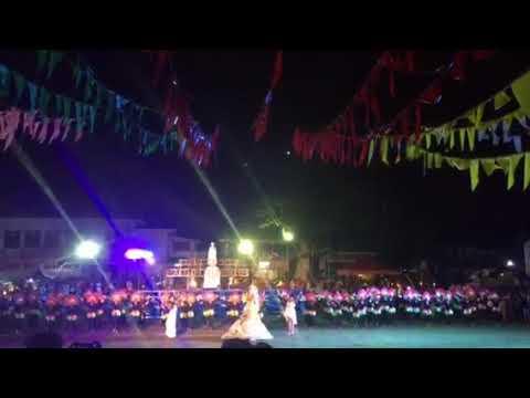 Ensayo festival in Padre Burgos Leyte. Performance by saint James school.