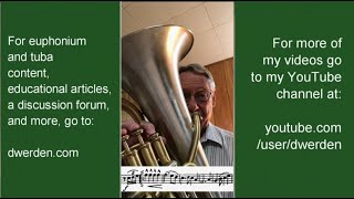 How to Practice Sousa's Belle of Chicago March, for Euphonium and Baritone Horn