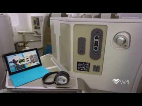 Vietnam Airlines Boeing 787 9 Dreamliner Cabin