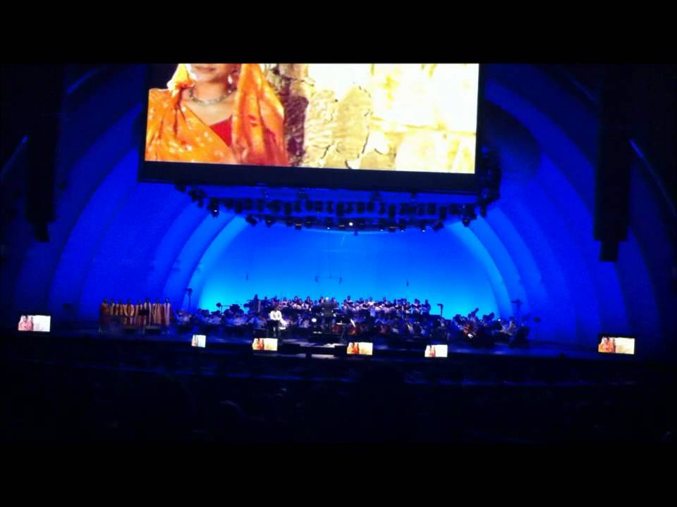 A.R. Rahman Live at the Hollywood Bowl July 10 2011 Part 1 - YouTube