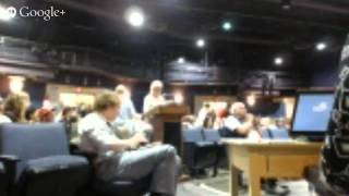 Bob the Green Guy at Vermont Public Service Board Hearing