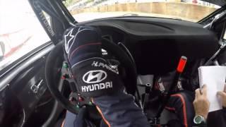 Hayden Paddon POV Helmet Camera - Rally Legend 2016 - Hyundai i20 WRC