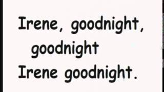 Good Night Irene - Home Made Karaoke From Kirby