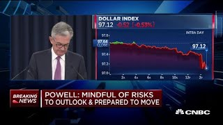 Powell: We don't target the dollar thumbnail