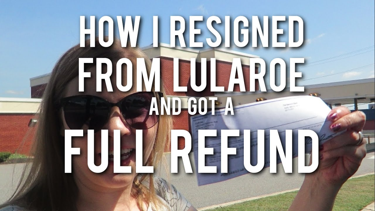 RESIGNING FROM LULAROE How I got