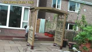 Garden Swing Chair Assembly And Use In Silverdale Sheffield