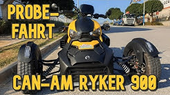 Can-Am Ryker 900 - Probefahrt (DEUTSCH/GERMAN) - VLOG044 [4K]