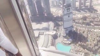 124TH FLOOR AT THE BURJ KHALIFA