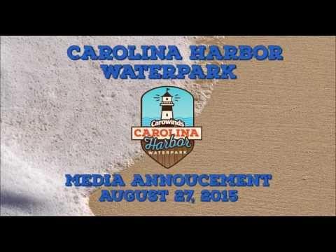 Carolina Harbor Waterpark - Media Announcement