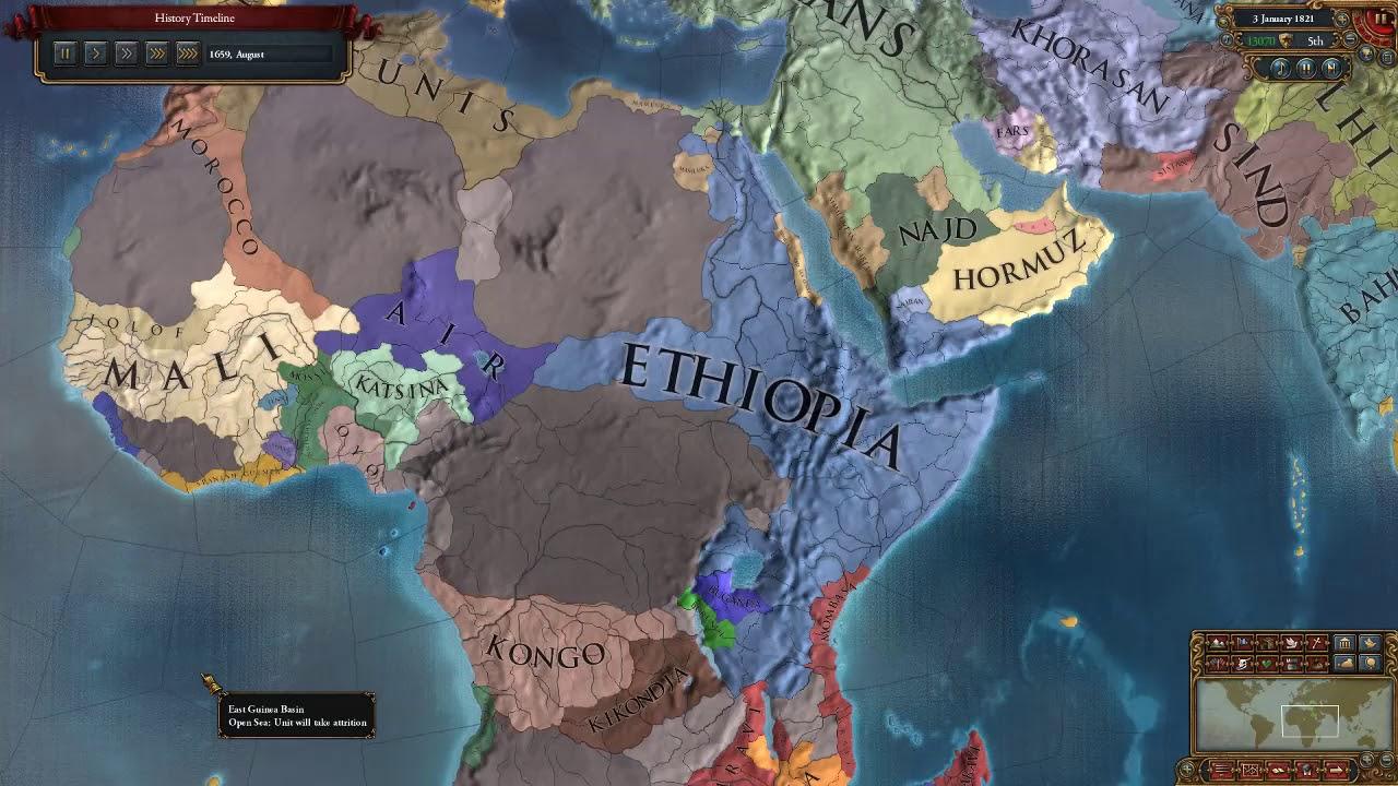 Eu4 Ethiopia Events