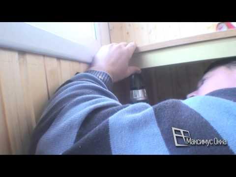 Максимус окна - балконный шкаф с раздвижными створками купе.