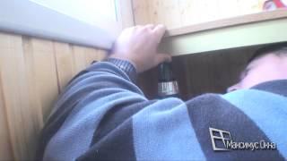 Максимус окна - балконный шкаф с раздвижными створками купе(, 2013-10-15T02:04:03.000Z)