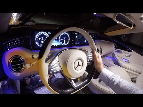 2017 Mercedes S Class Review AMG - Night Drive S500 Cabriolet