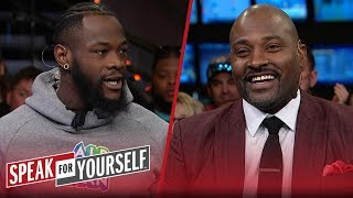 Deontay Wilder joins Whitlock & Wiley to preview rematch with Tyson Fury | PBC | SPEAK FOR YOURSELF