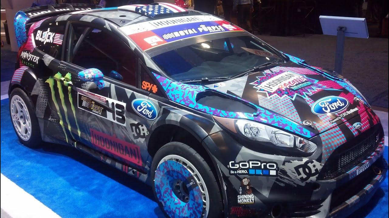 Ken Block Ford Fiesta From Gymkhana 6 Youtube