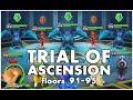 SUMMONERS WAR : Trial of Ascension Floors 91-95   (Nov 2015)