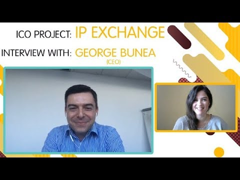 "ICO ""IP EXCHANGE"" interview with  George Bunea [ENG]"