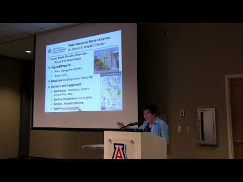 Water Resources Research Center – Sharon Megdal, WRRC Director