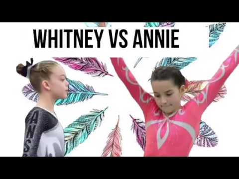 Whitney Vs Annie   Gymnasts   Competition