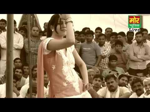 new haryanvi dance    sapna    chote chote kele    mor haryanaya