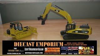 Norscot Cat 330D L Excavator w/Gaz Evans Mutley Mechanical Pulveriser & Cat 963D w/GCM Root Rake
