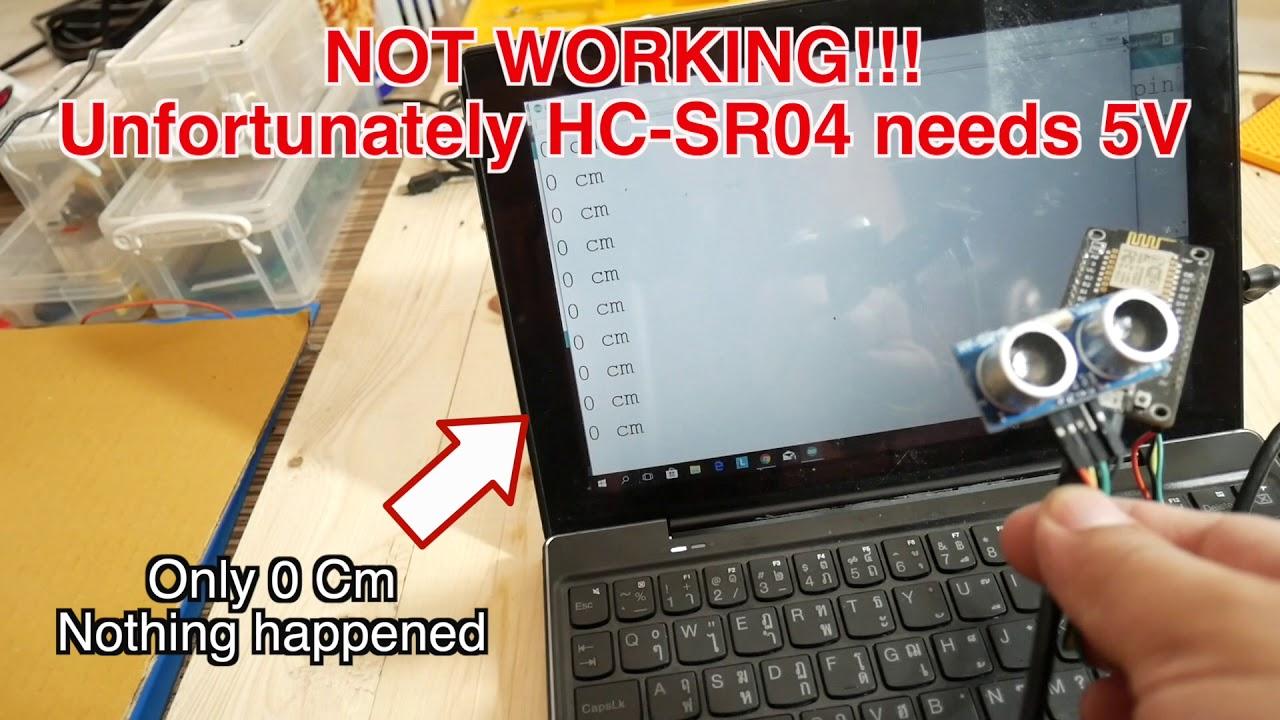 Node Mcu Hc Sr04 Ultrasonic Sensor Did Not Work With 33v Converter Circuit Board Pcb Buy