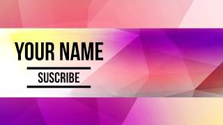 Free Banner Template #15 | Photoshop 2017