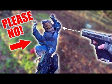 BATTLE ROYALE IN AIRSOFT!