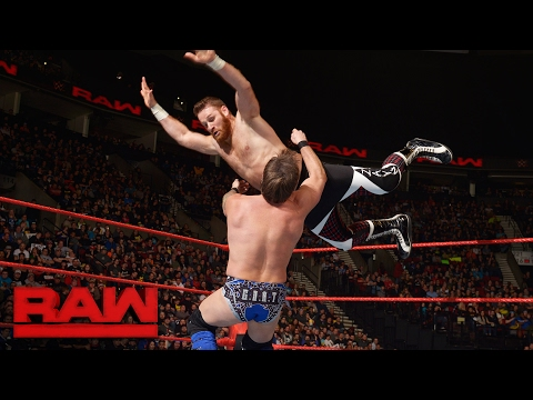 Sami Zayn vs. Chris Jericho - United States Championship Match: Raw, Feb. 6, 2017