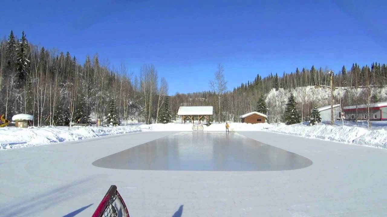 time lapse ester ice rink resurfacing youtube