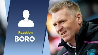Dean Smith's Middlesbrough reaction: We've got a spring in our step