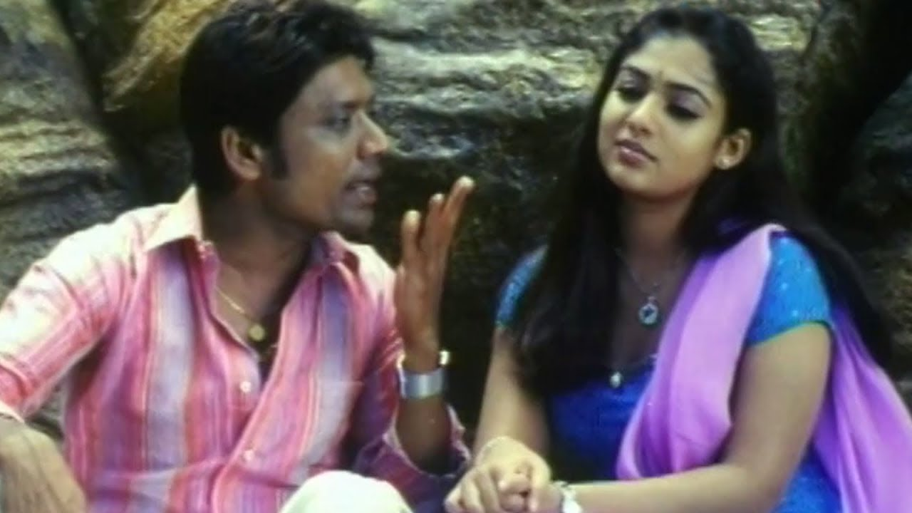 Download S J Surya & Nayanatara at Park Scene In Chilipi Movie